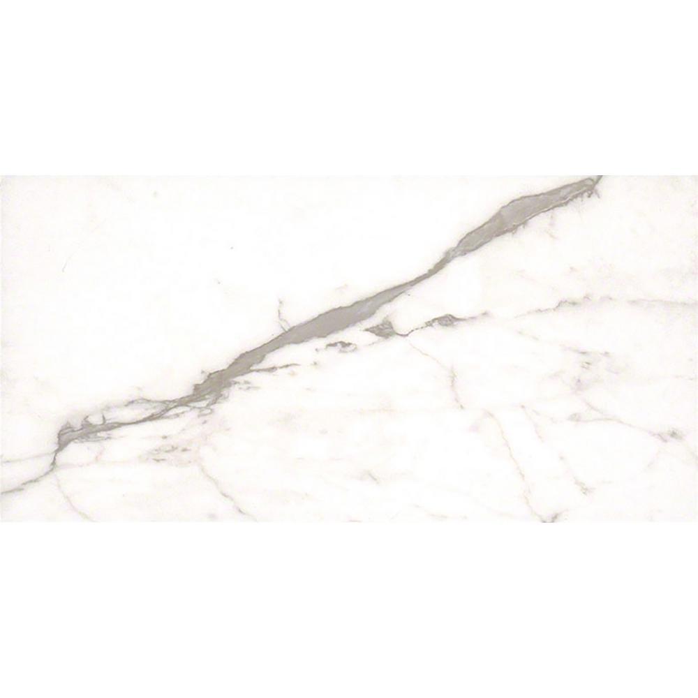 White Vena 12 In X 24 Glazed Ceramic Wall Tile 16 Sq