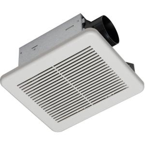 Hampton Bay 80 CFM No Cut Ceiling Humidity Sensing Bath Fan by Hampton Bay
