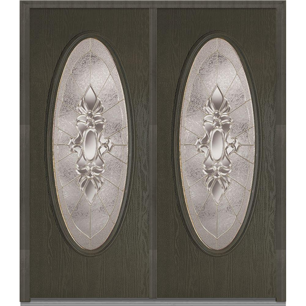 72 in. x 80 in. Heirloom Master Left-Hand Large Oval Classic