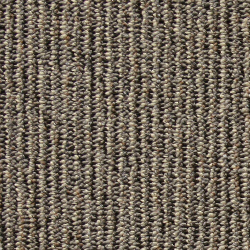 Central Park Silver Loop 19.7 in. x 19.7 in. Carpet Tile (20 Tiles/Case)