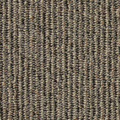 Central Park Silver Loop 19.7 in. x 19.7 in. Carpet Tile (20 Tiles/Case)