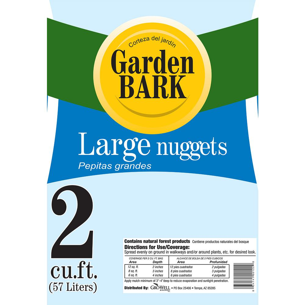 2 cu. ft. Gardentime Large Bark