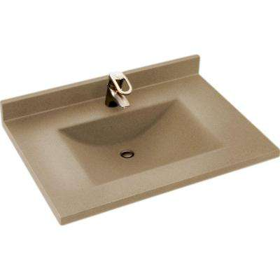 Solid-surface materials - Brown - Bath - The Home Depot