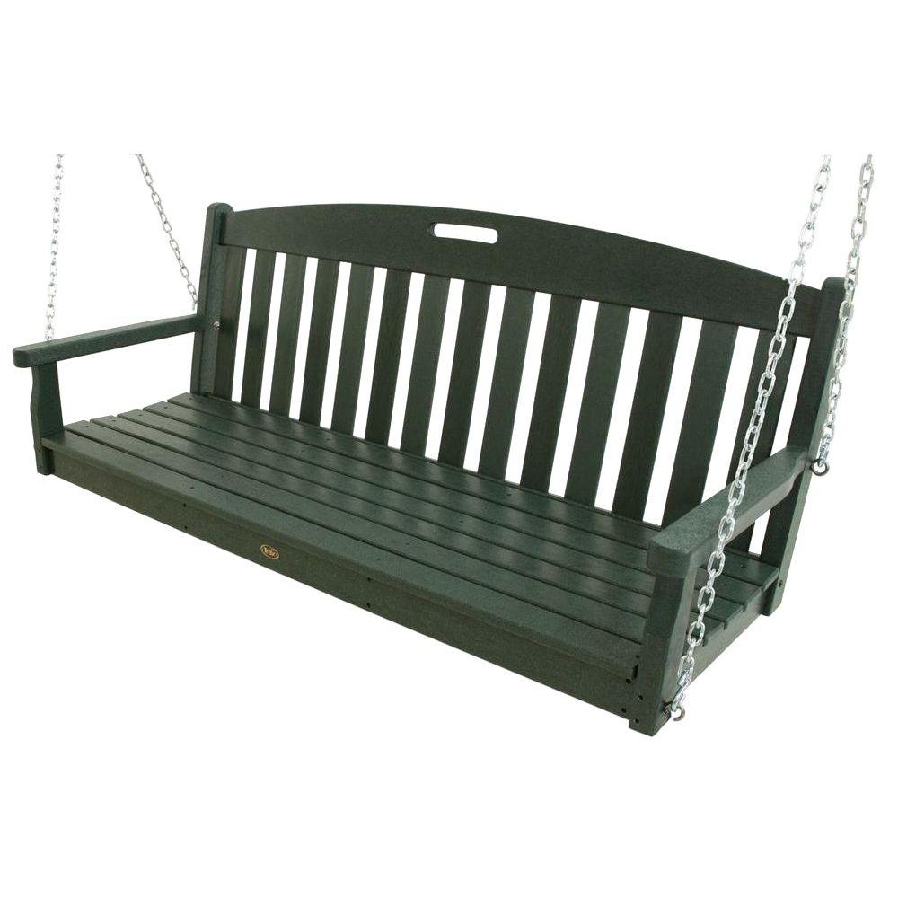 Trex Outdoor Furniture Yacht Club Rainforest Canopy Patio Swing