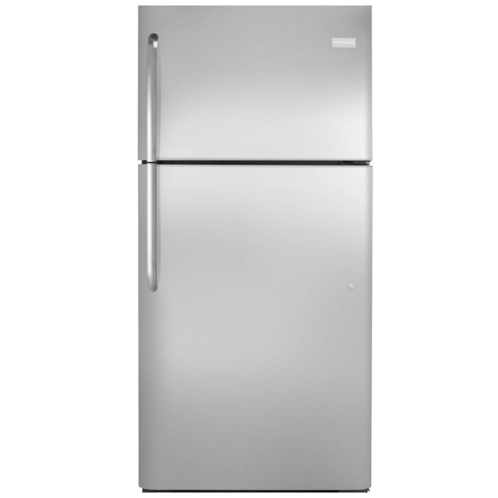 Frigidaire 20.5 cu. ft. Top Freezer Refrigerator in Stainless Steel, ENERGY STAR