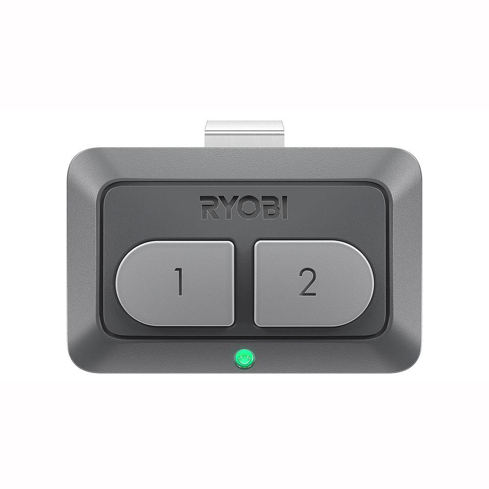 Ryobi garage door opener car remote gda the home depot