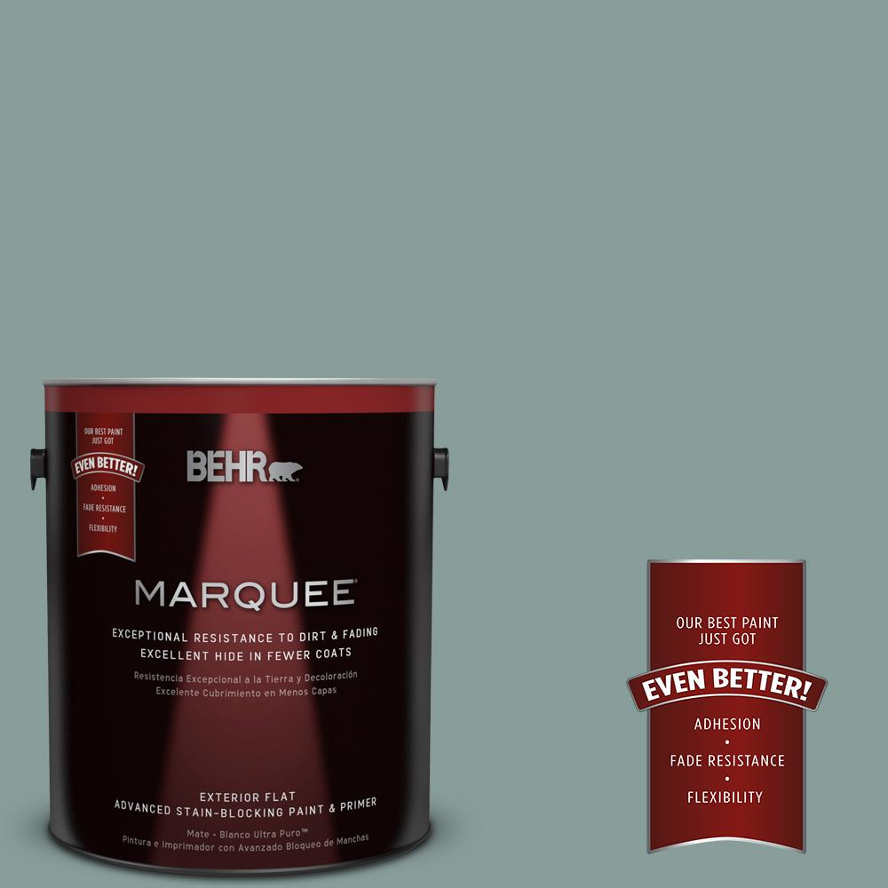 BEHR MARQUEE 1-gal. #PPU12-4 Agave Flat Exterior Paint