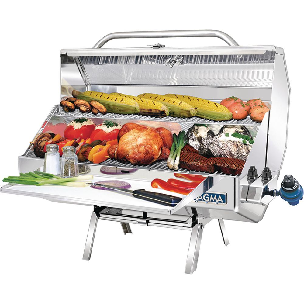 Monterey 2 Gourmet Series Propane Gas Grill in Stainless Steel
