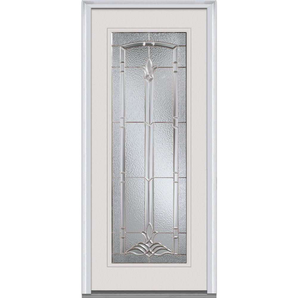 MMI Door 34 In. X 80 In. Bristol Left Hand Full Lite Classic