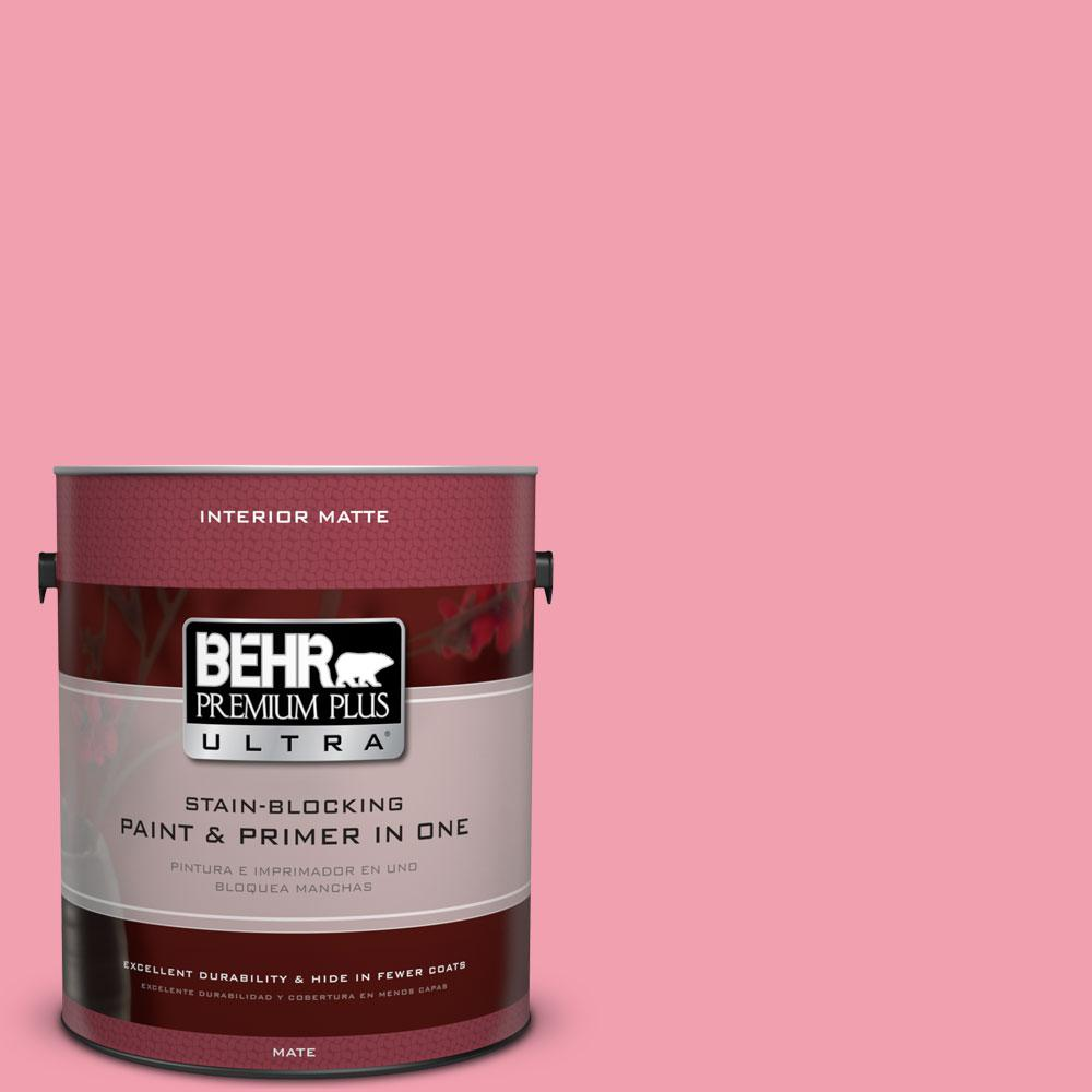 1 gal. #120B-5 Candy Coated Matte Interior Paint and Primer in