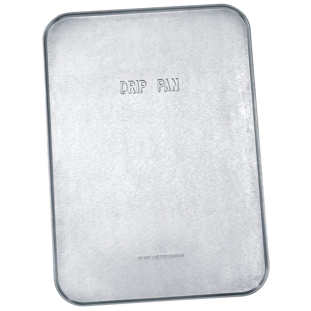 Lumax 18 in. x 25 in. x 1/2 in. Galvanized Drip Pan