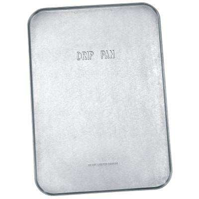 18 in. x 25 in. x 1/2 in. Galvanized Drip Pan