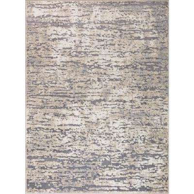 Charlotte Collection Studio Ivory 6 ft. 7 in. x 9 ft. 3 in. Area Rug