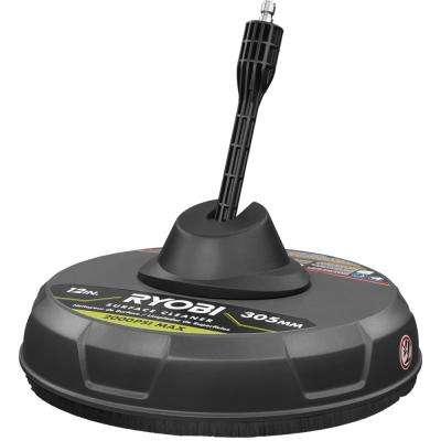 12 in. 2000 PSI 1.4 GPM Quick Connect Surface Cleaner for Electric Pressure Washers