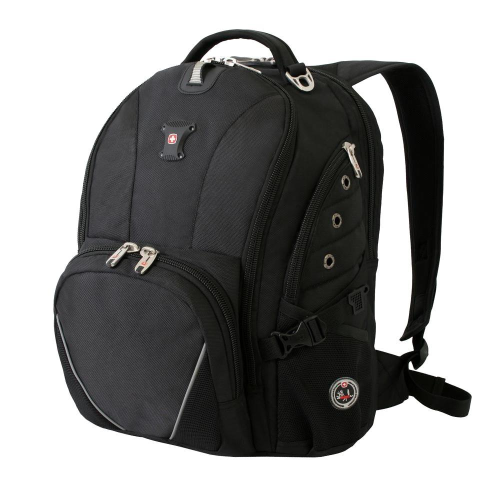 Wenger Swiss Gear Black ScanSmart Backpack