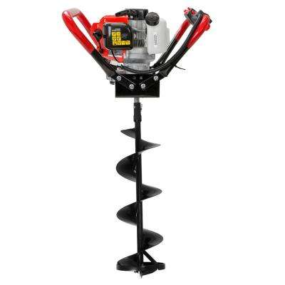 8 in. 55cc Gas Powered Ice Auger Kit