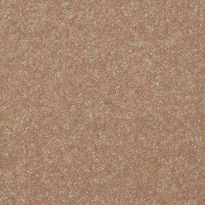 Carpet Sample - Kingship II - Color Butter Icing Texture 8 in. x 8 in.