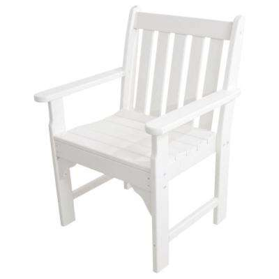 Vineyard White Garden Patio Arm Chair
