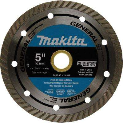5 in. Steel Turbo General Purpose Diamond Blade