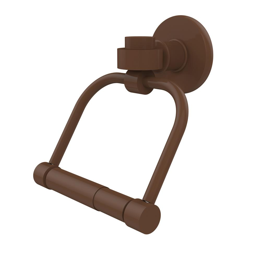 Allied Br Continental Collection Single Post Toilet Paper Holder In Antique Bronze