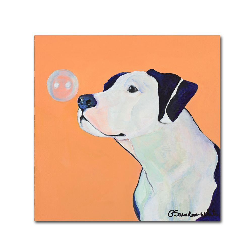 14 in. x 14 in. Fascination Canvas Art