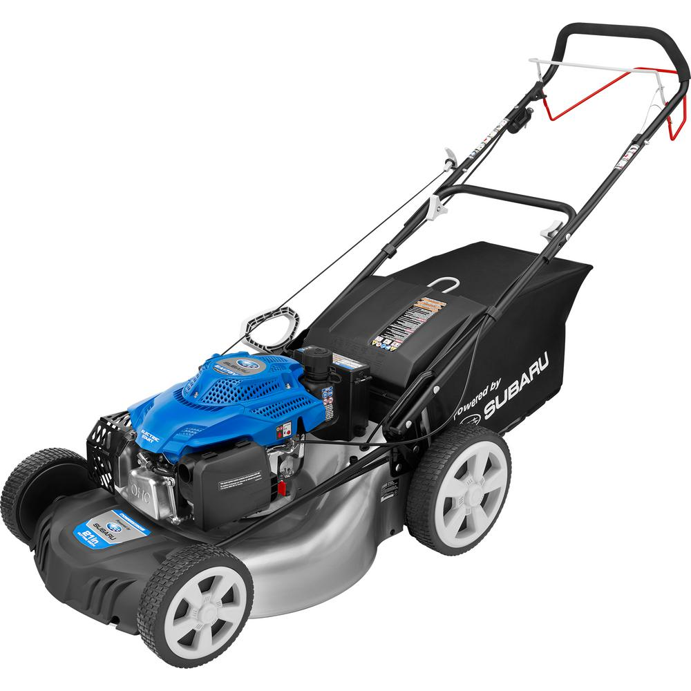PowerStroke 21 in. 4.5 HP Subaru Gas Rear Wheel Drive Walk Behind Self Propelled Mower