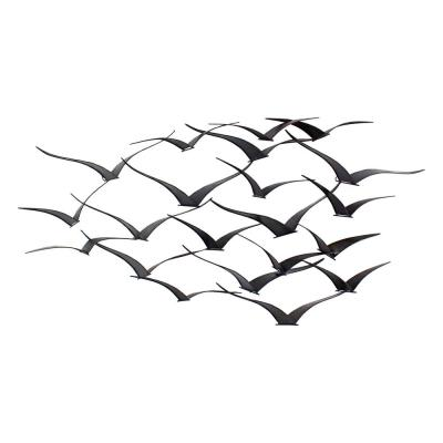 Darla Brown Metal Birds Wall Decor
