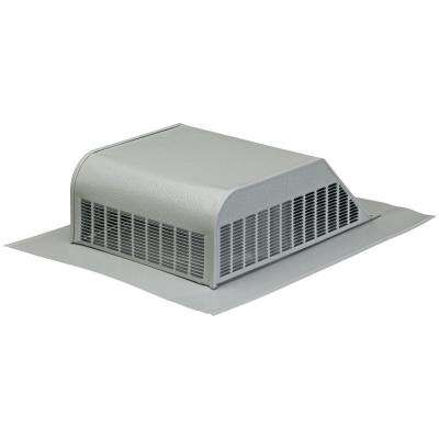 50 sq. in. NFA Aluminum Slant-Back Roof Louver Static Vent in Gray (Sold in Carton of 6 only)