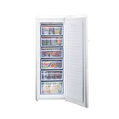 Retro 6 cu. ft. ENERGY STAR Upright Freezer in White