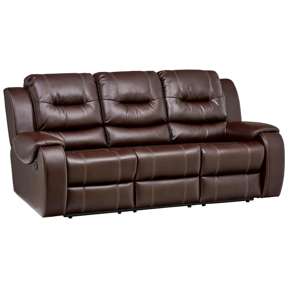 Clark Umber Double Reclining Sofa