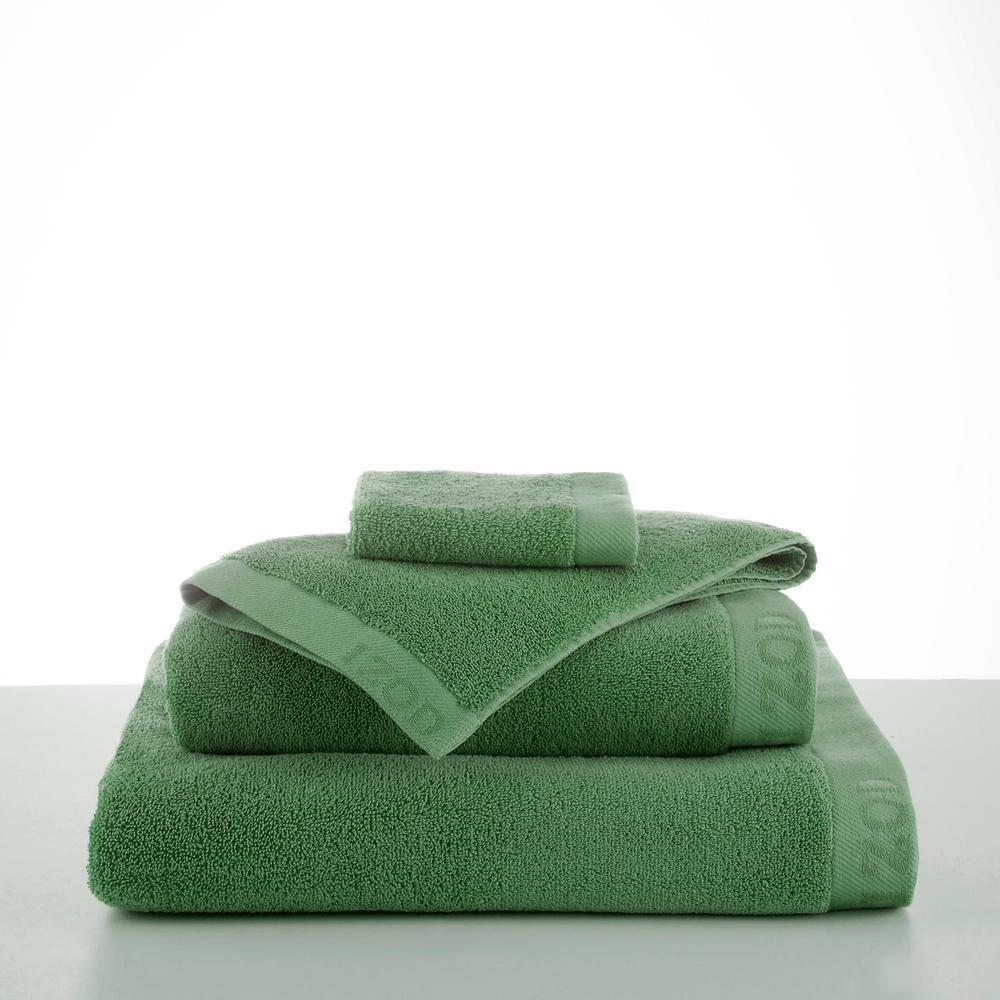 Classic Egyptian Cotton Bath Towel in Stone Green