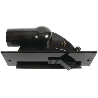 Automatic Dustpan Sweep Inlet for Central Vacuums