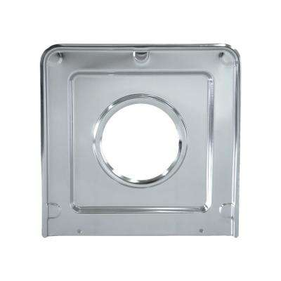 9.125 in. x 9.3125 in. Drip Pan in Chrome