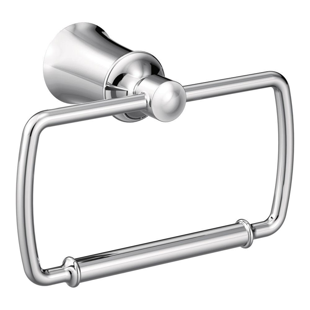 Dartmoor Towel Ring in Chrome