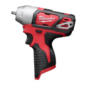 Click here to buy Milwaukee M12 12-Volt Lithium-Ion Cordless 1/4 inch Impact Wrench (Tool-Only) by Milwaukee.
