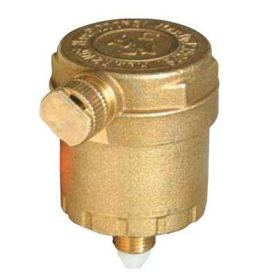 1/8 in. Brass Air Vent