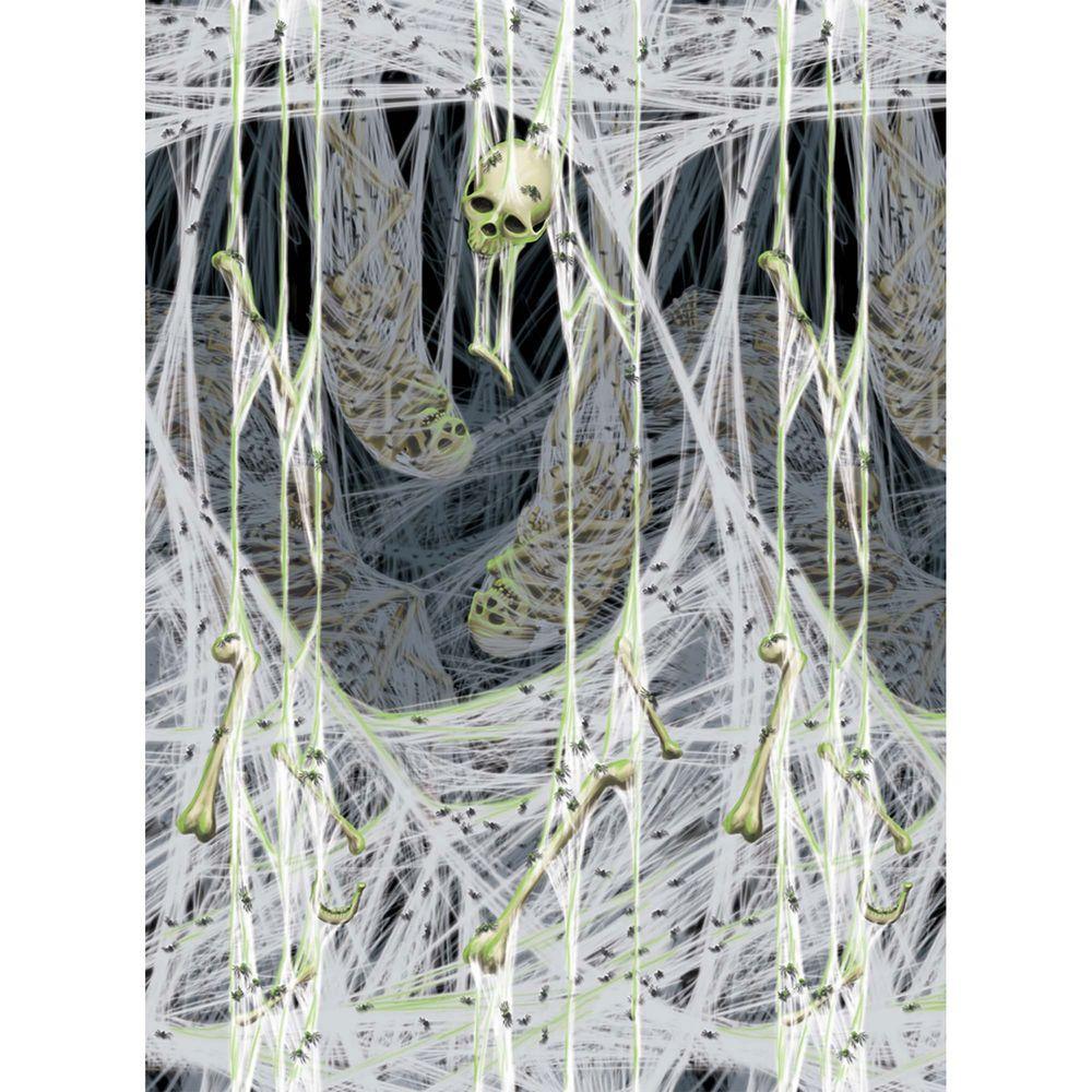 4 ft. x 40 ft. Spider's Lair Scene Setter