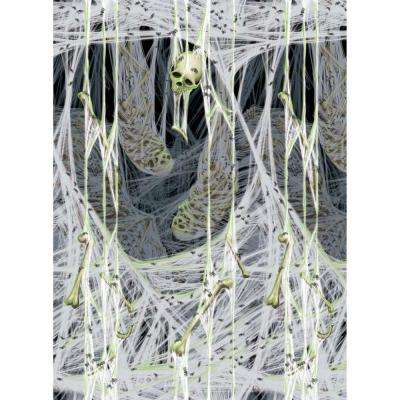 Chop Shop Haunted House Halloween Party Decoration Scene Setters Room Rolls