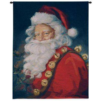 44 in. St. Nick Wall Tapestry