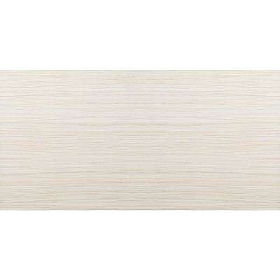 Thread Ivory Matte 11.81 in. x 23.62 in. Porcelain Floor and Wall Tile (15.504 sq. ft. / case)