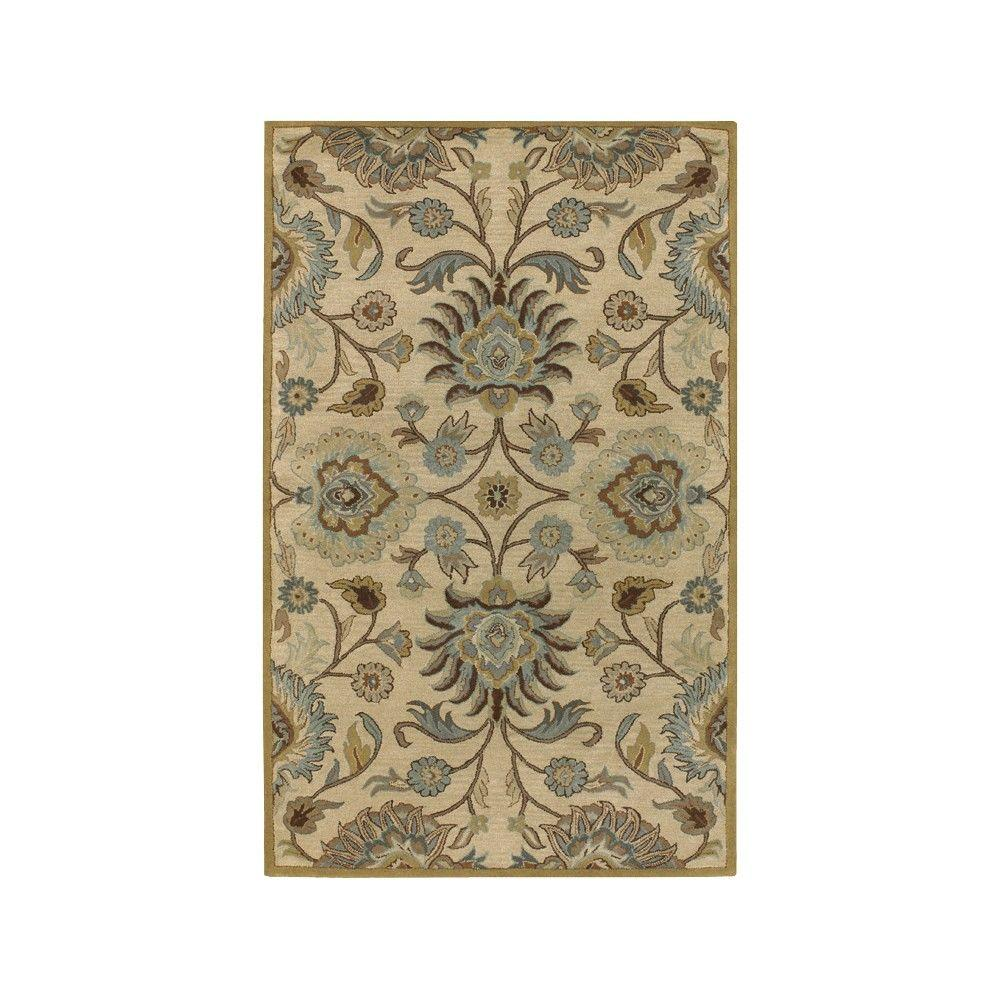 Home Decorators Collection Echelon Beige 6 Ft X 6 Ft