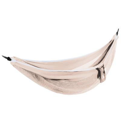9 ft. Polyester Mesh Double Hammock Bed in Sand and Sky