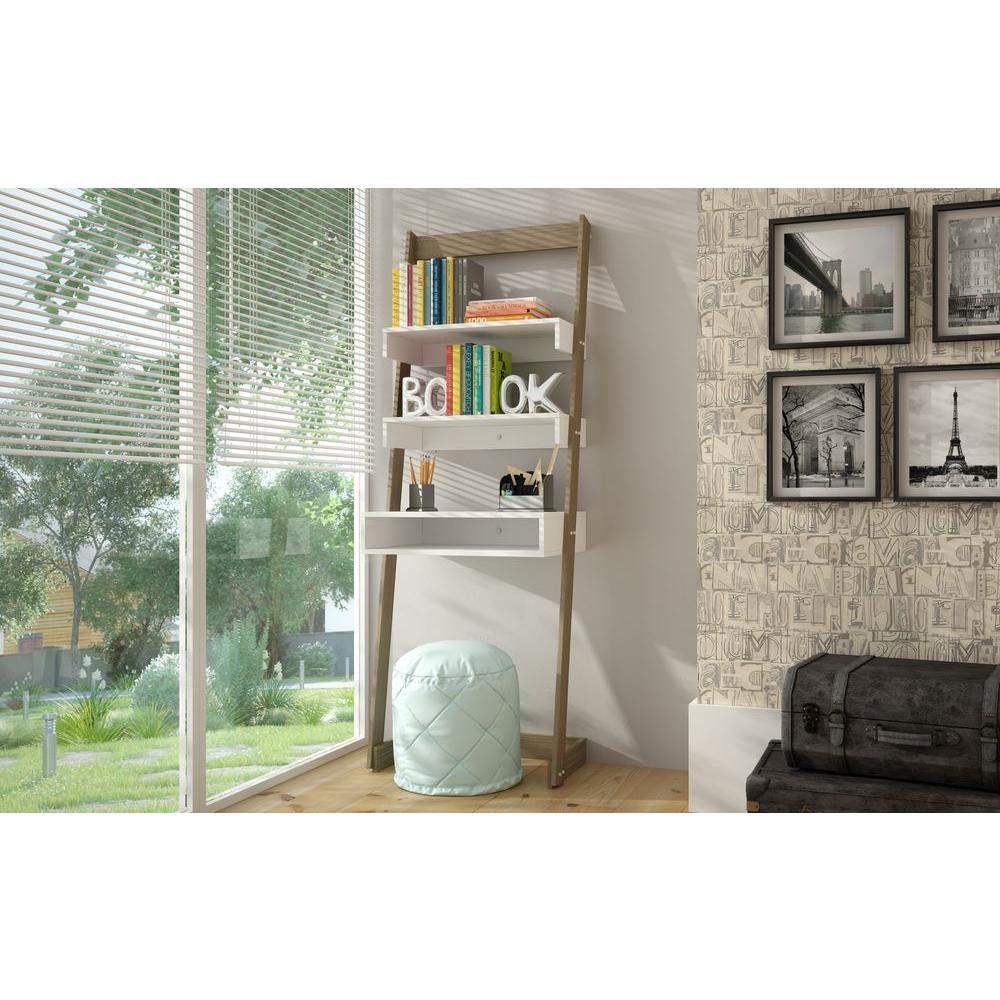 Carpina Oak and White Desk