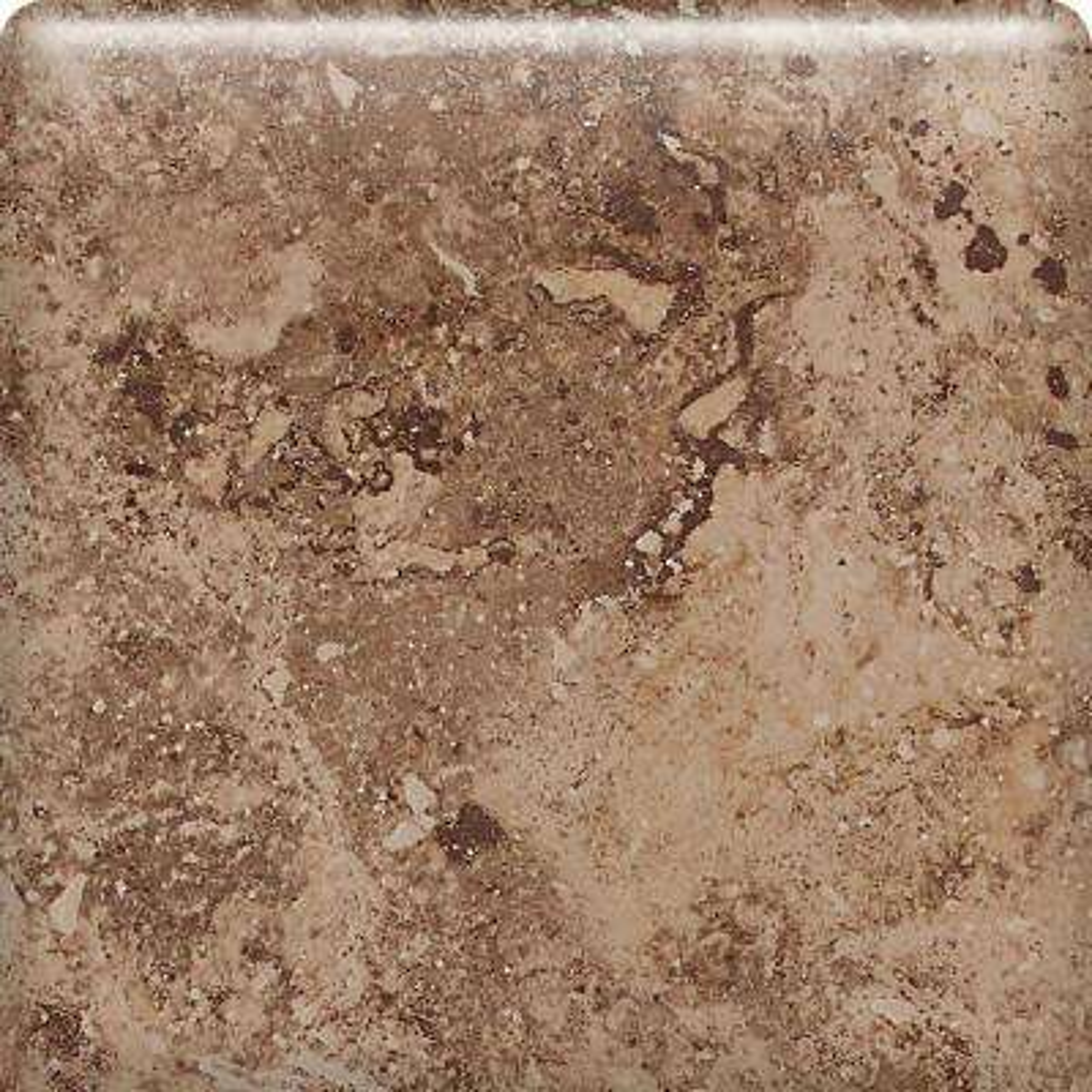 Heathland Edgewood 6 in. x 6 in. Glazed Ceramic Bullnose Wall Tile