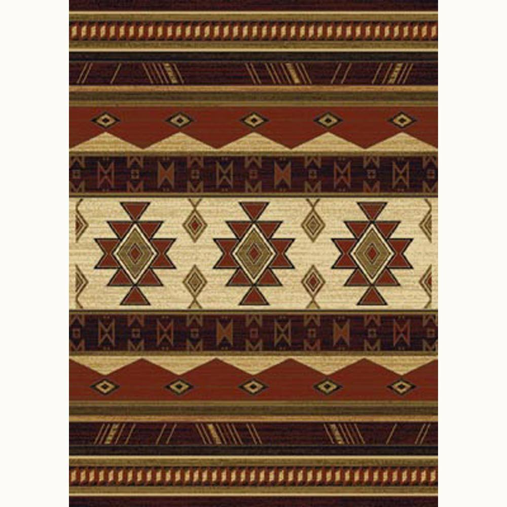 United Weavers Southwest Wind Auburn 5 ft. 3 in. x 7 ft. 2 in. Traditional Southwest Area Rug