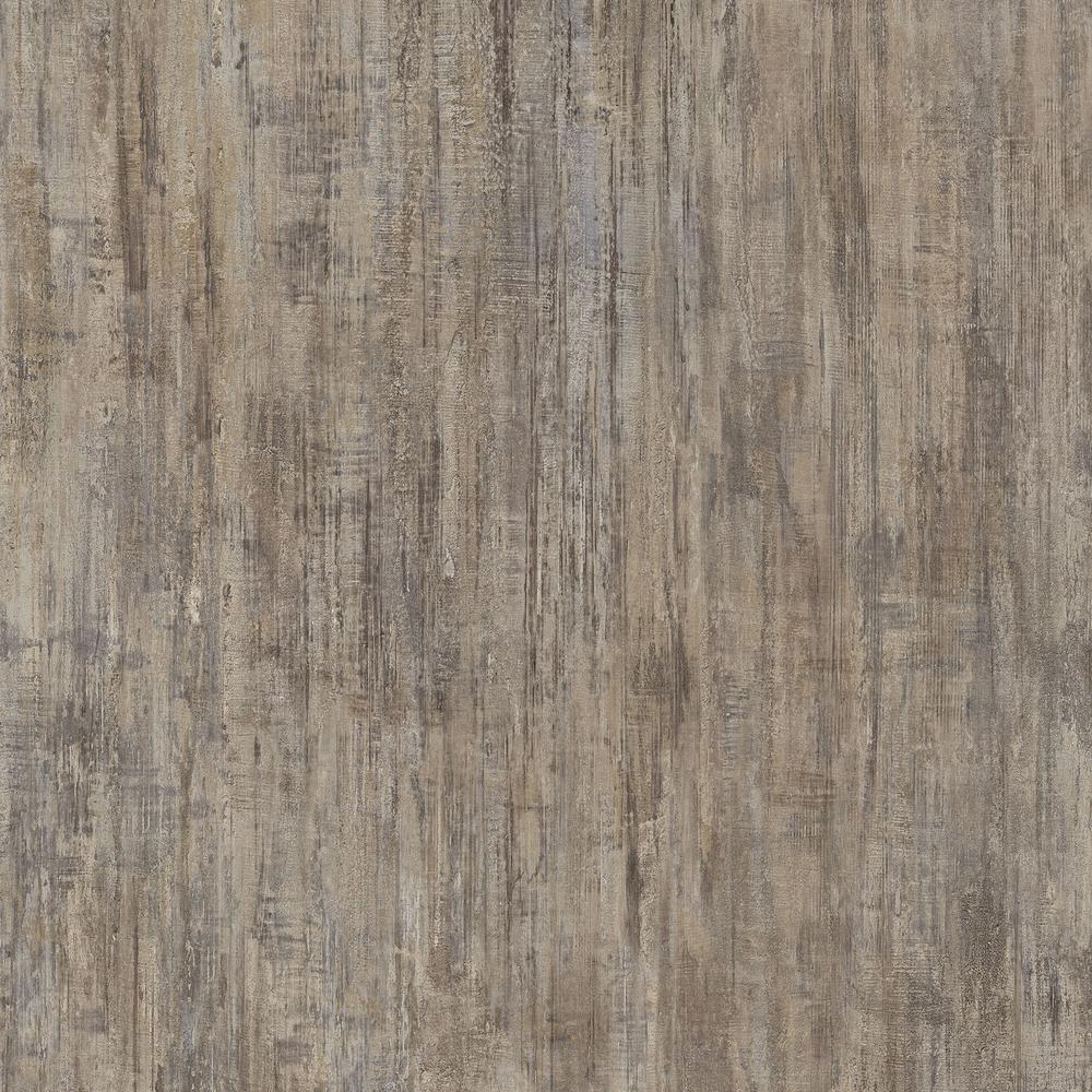 Brushed Chocolate 16 in. x 32 in. Luxury Vinyl Tile Flooring (24.89 sq. ft. / case)