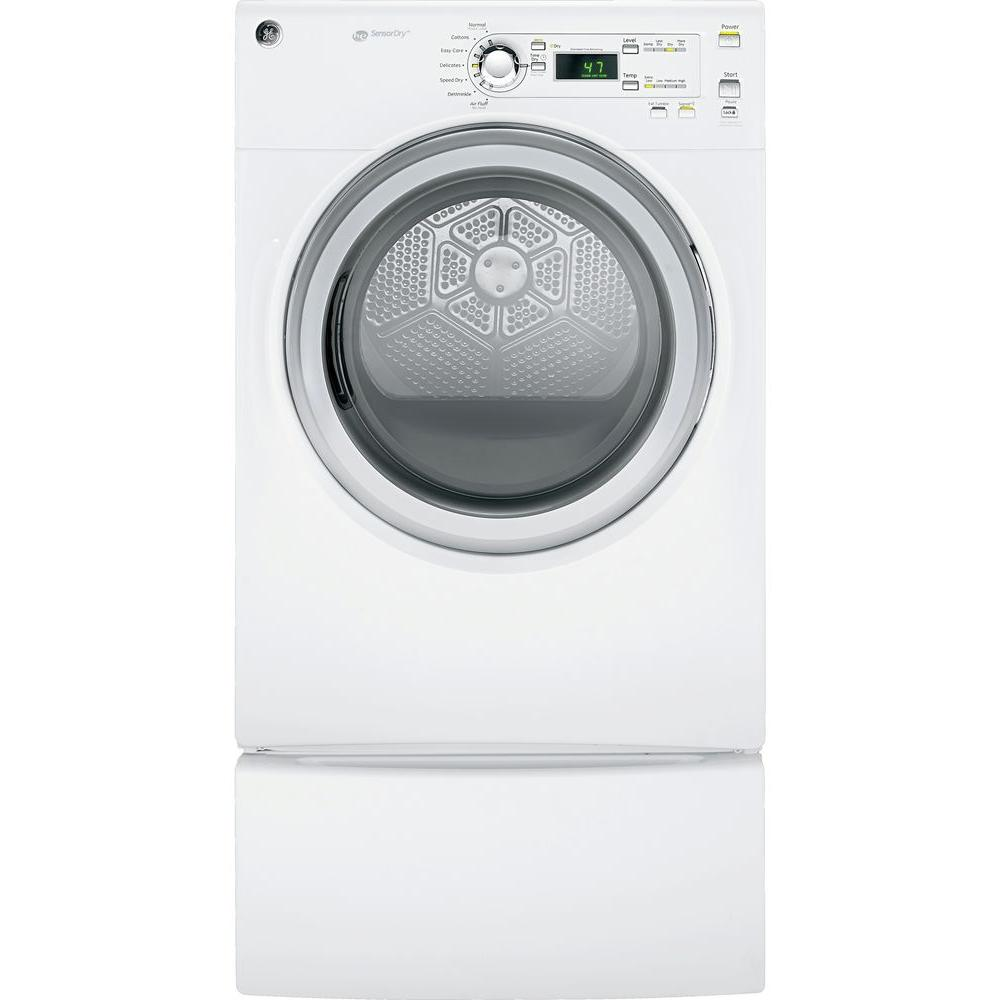 GE 7.0 cu. ft. Gas Dryer in White
