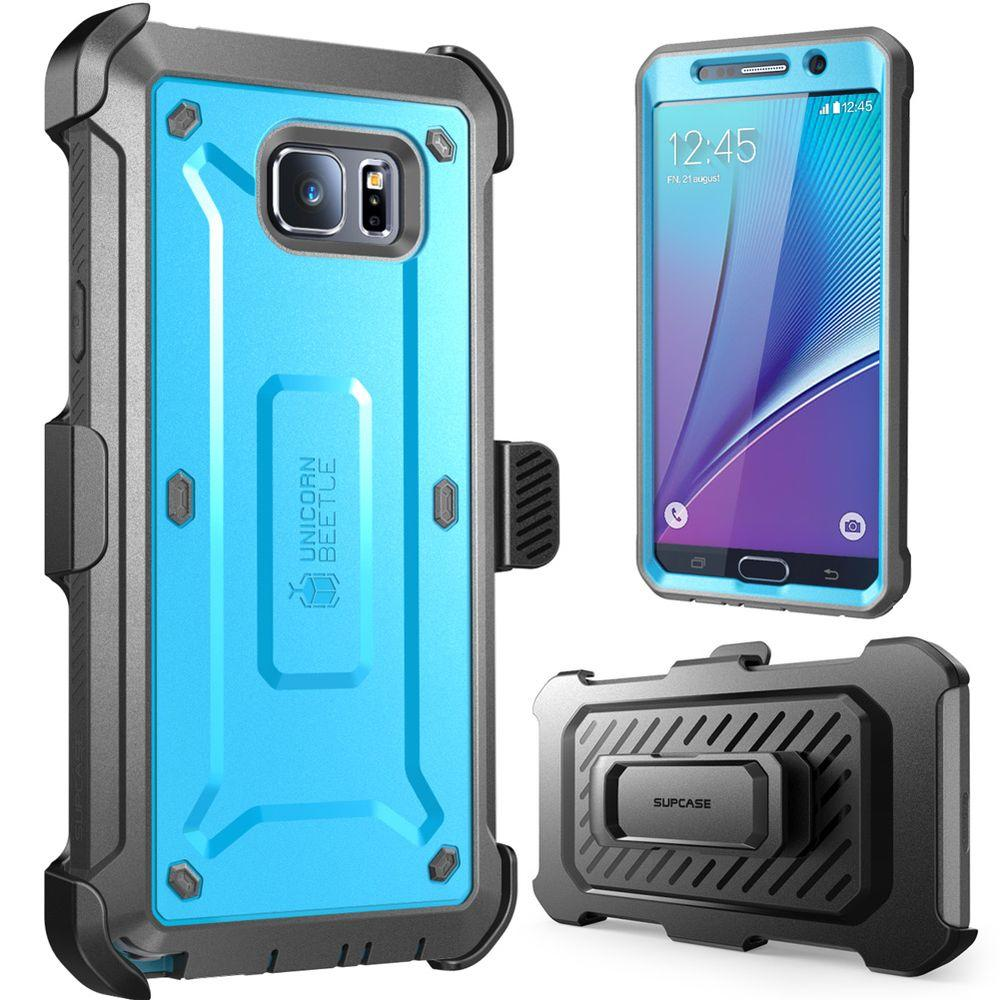 SUPCASE Galaxy Note 5 Unicorn Beetle Pro Case with Screen