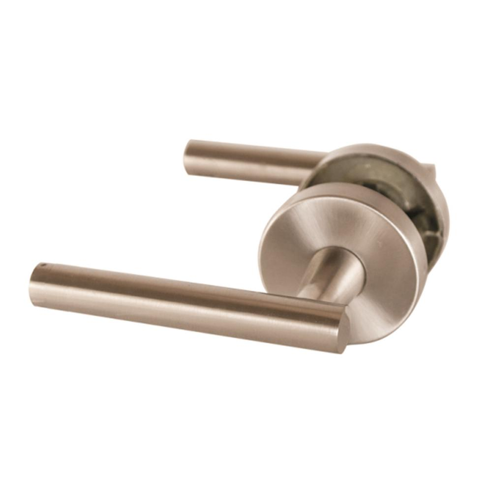 Eastport Satin Nickel Passage Hall/Closet Door Lever