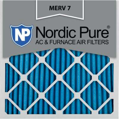 24 in. x 24 in. x 1 in. Basic Dust Pleated MERV 7 - FPR 5 Air Filter (3-Pack)